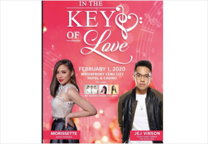 In the Key of Love Concert