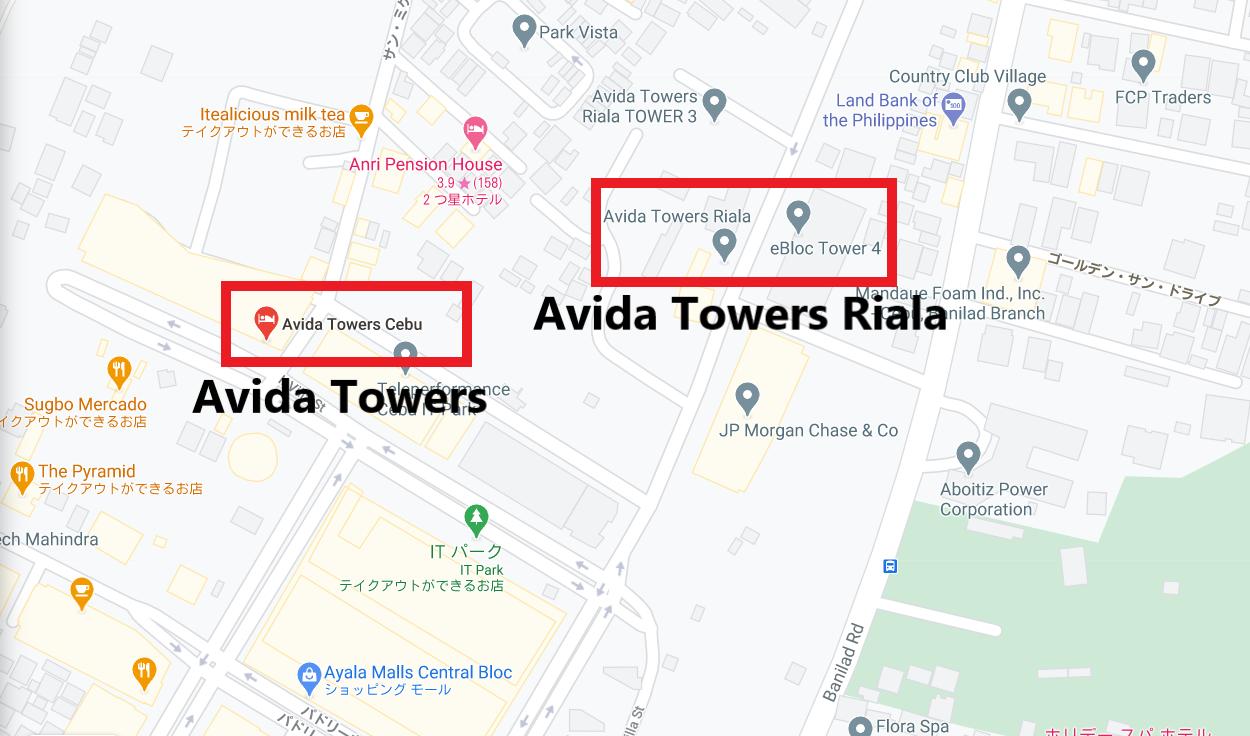 Avida(アビダ)はセブの外国資本の企業が集まるセブの経済特区、ITパーク内にあるコンドミニアムです。 日系企業も多く進出しており、日本食のお店も多く日本人に人気のエリアです! 語学学校も多く校舎を構える場所で、留学生も滞在するセブ島内でも安全なエリアとして知られています。2019年にはアヤラモールがITパーク内、Avida Towers Cebu, Rialaの近くにでき、ますます便利に!!ITパーク内は家賃相場が高いと言われていましたが、コロナの影響で家賃相場が下がっており、以前と比べ安い金額でお部屋を借りられたり、購入が出来たりします。この機会にぜひAvida(アビダ)をチェックして下さい♪