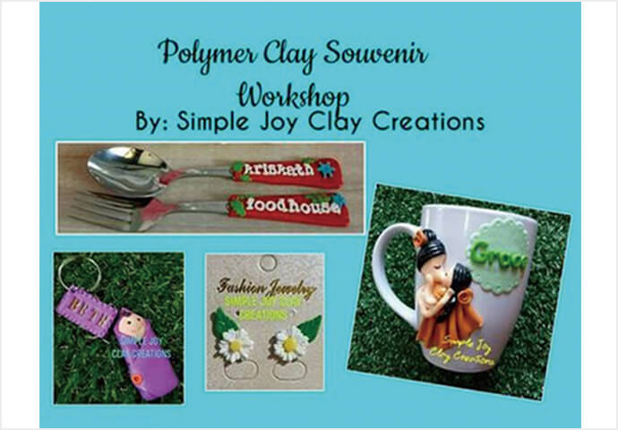 POLYMER CLAY  SOUVENIR WORKSHOP