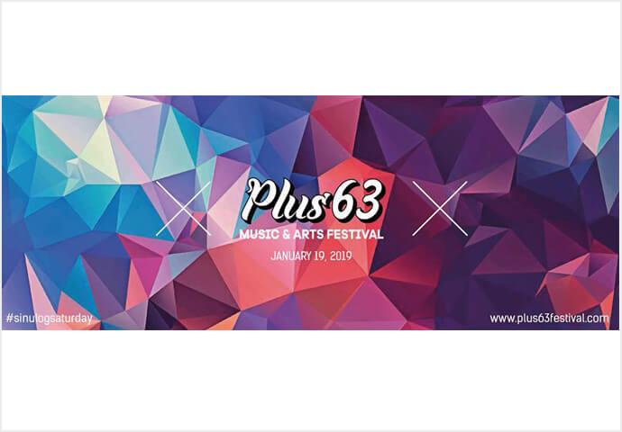PLUS63 MUSIC & ARTS FESTIVAL 2019