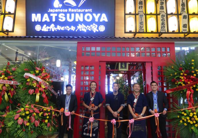 大人気日本居酒屋の[松之家]がSM SEASIDE CITY CEBUにオープン!