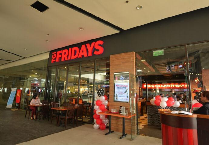 マクタン島(Island Central Mall)にTGIフライデーズ新店オープン!