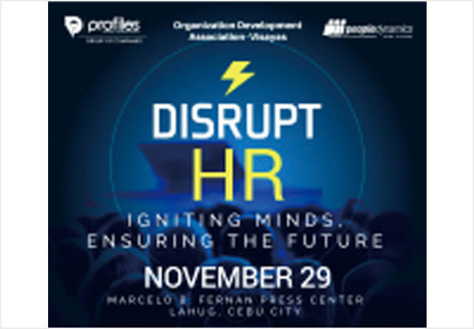 Disrupt HR: Igniting Minds,  Ensuring the Future