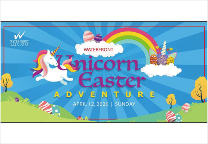 Waterfront Unicorn Easter Adventure