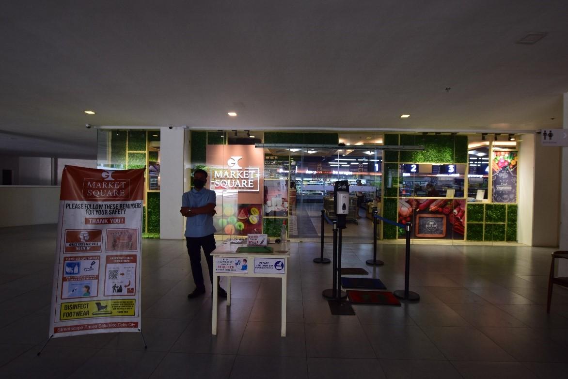 新館1階にスーパー(ガイサノマーケットスクエア)がニューオープンし、ますます便利になりました!