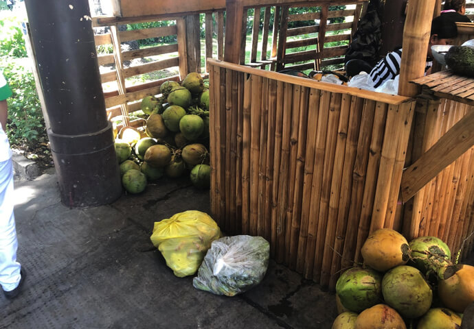 There is also a coconut called Buko here.
