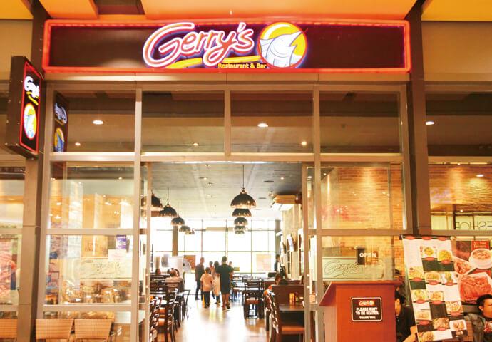 カジキのような魚のキャラクターがお店の目印♪  Northwing館にある Gerry's Restaurant & Barは、 フィリピン料理、特にグリルを使ったメニューに力を入れています。  フィリピン流のバーベキューや炭火焼きに、 シシグ、シニガン、クリスピーパタ、カレカレなど、 代表的なフィリピン料理を堪能したい人にオススメ!