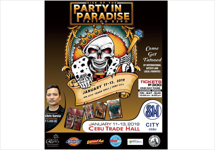 Rise of the Party  in Paradise Tattoo Expo タトゥエクスポ