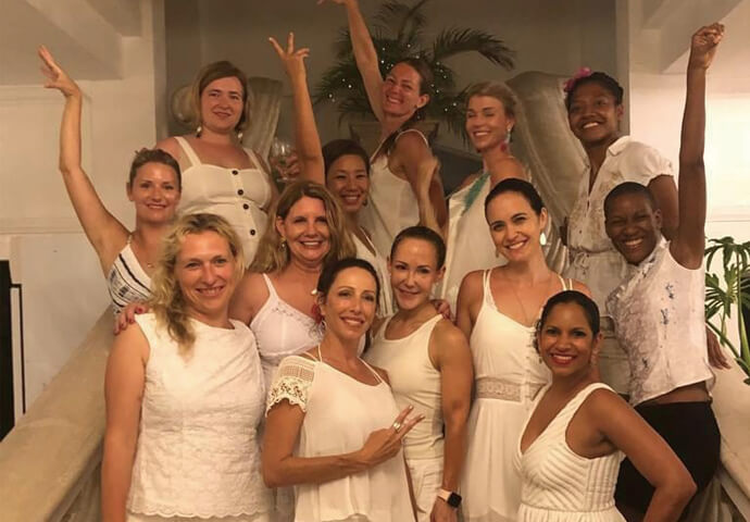 THE WOMEN EMPOWERED LATIN DANCE  AND WELLNESS RETREAT FOR WOMEN