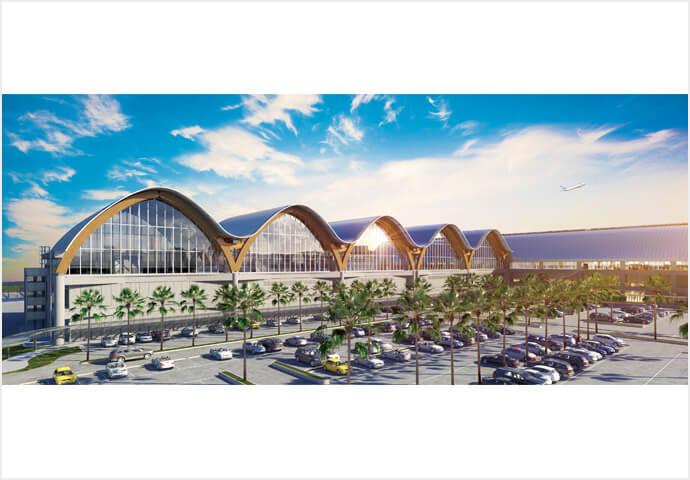 マクタン・セブ国際空港第2ターミナルに 大統領を招いての完成披露会を開催
