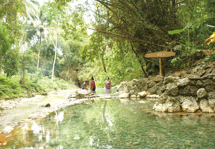 Main Springs Bath in Cebu's Forest
