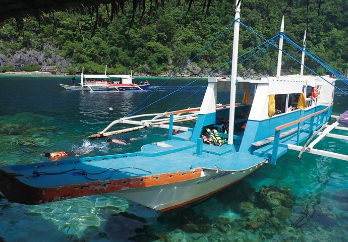 フィリピンの秘境 カラミアン諸島 -コロン島-