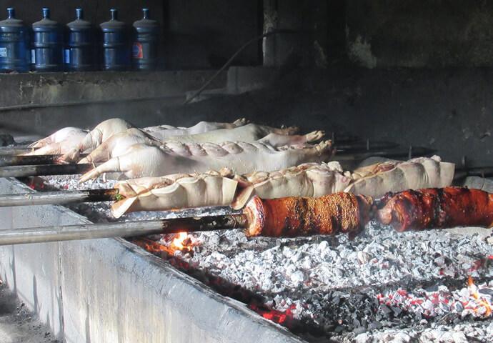 セブアノ達の愛する郷土料理・レチョン