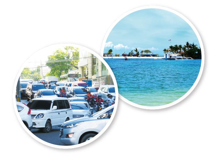 セブの交通事情を一変させる! 海上公共交通機関「水上バス」が運航スタート!