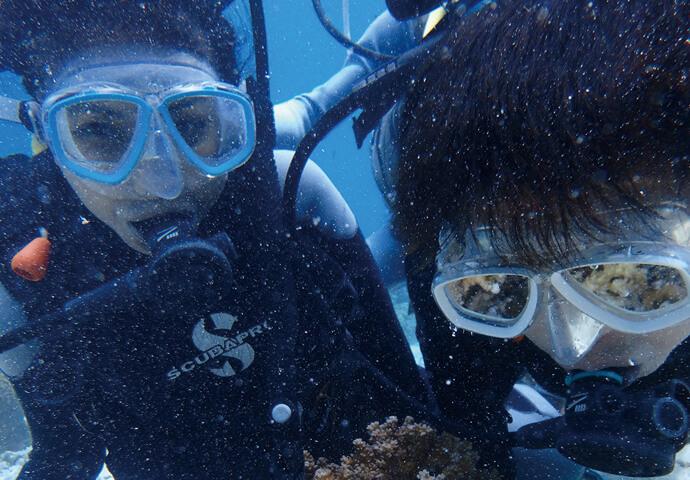 セブの海に一度潜れば、 ダイビングの魅力がよくわかる! 初めての人が「また潜りたい!」と リピートする理由を体験!