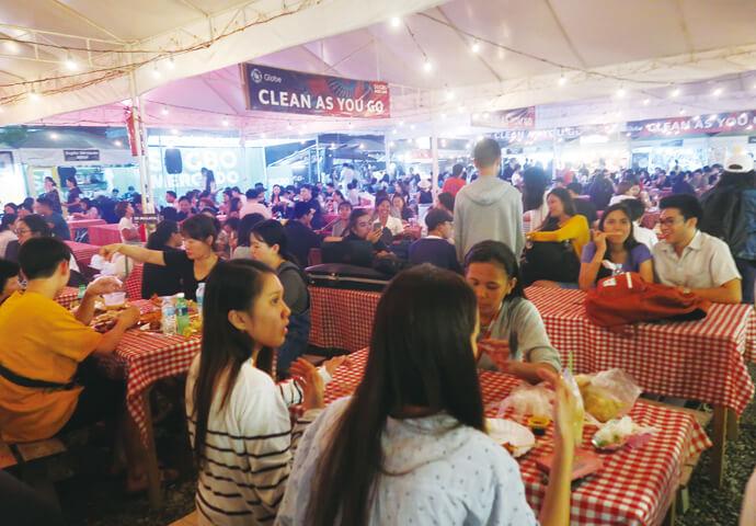 セブ最大&唯一の通年フードマーケット【SUGBO MERCADO the weekend food market 】