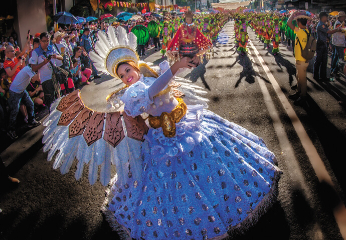 Experience the grandest festival in the Philippines - Sinulo