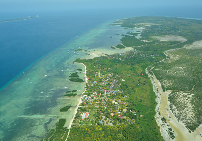 The Views of Cebu  Seen from the Sky