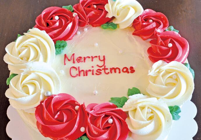 Christmas Chiffon Cake