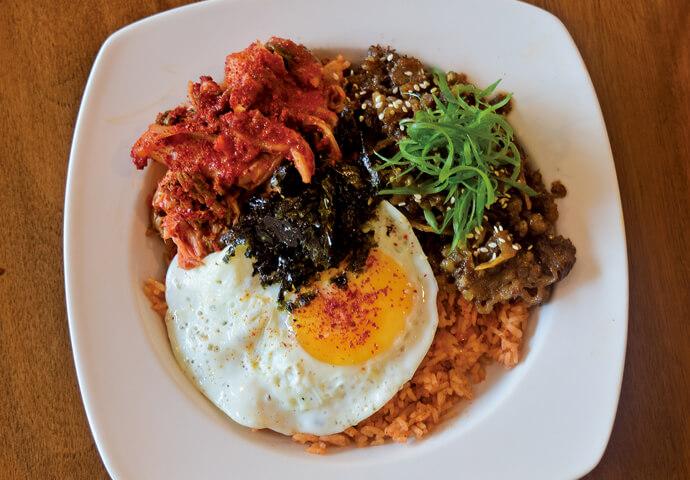 Kimchi Fried Rice プルコギビーフ
