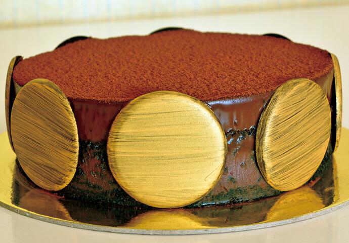 Nama Truffle Cake