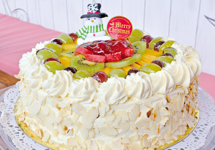 Christmas Fruit Torte