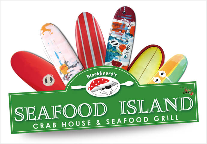 Blackbeard ' s Seafood Island