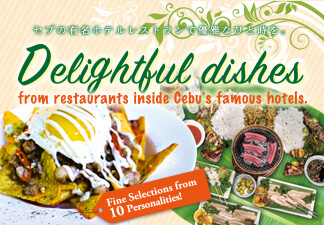 Delightful dishes from restaurants inside Cebu's famous hotels.